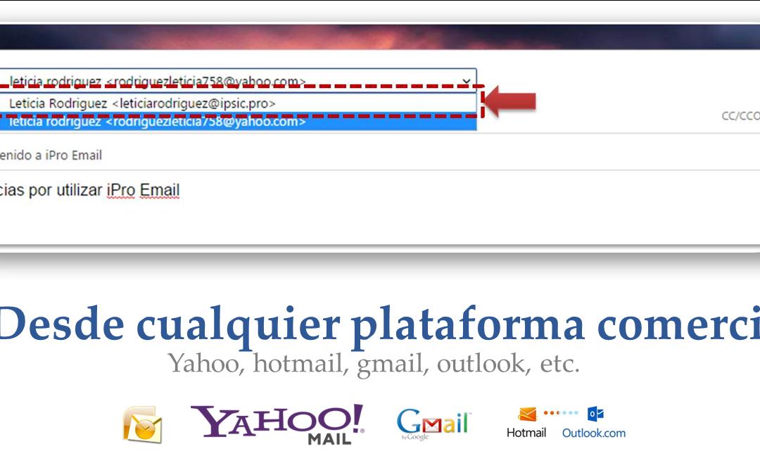 Configurar iPro email en cualquier plataforma
