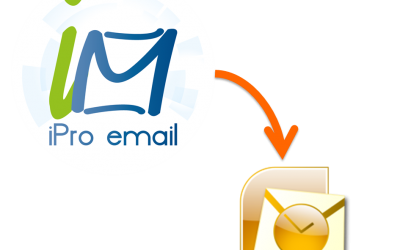 Configurar iPro Email para Outlook