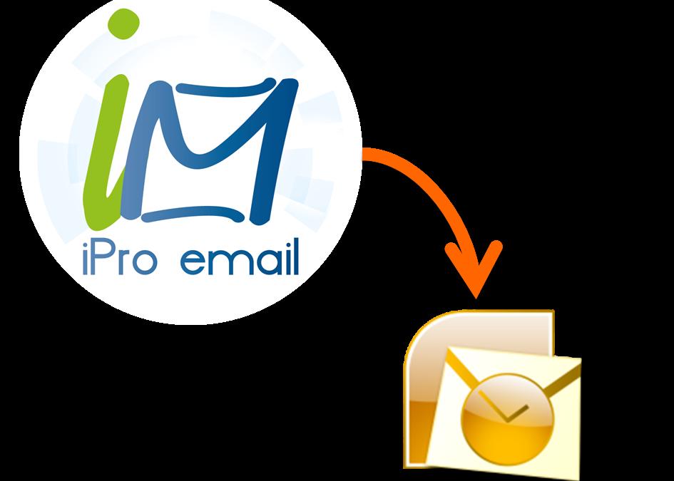 Configurar iPro Email para Outlook